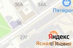 Схема проезда до компании Электроника в Барнауле