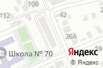 Схема проезда до компании Почтовое отделение №4 в Барнауле