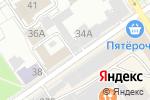 Схема проезда до компании АлтайИнПРЕСС+ в Барнауле