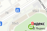 Схема проезда до компании На Динамо в Барнауле