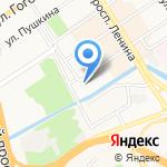 Цынгаев Е.В. на карте Барнаула