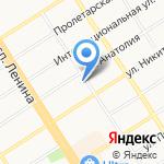 Алтайский краевой союз детских и подростковых организаций на карте Барнаула