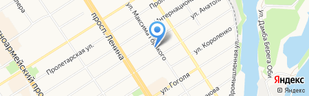 Главное Управление образования и молодежной политики Алтайского края на карте Барнаула