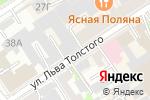 Схема проезда до компании Антураж в Барнауле