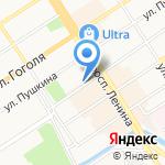 Трастэнерго на карте Барнаула