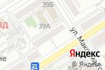 Схема проезда до компании Администрация Центрального района в Барнауле