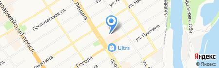 На Динамо на карте Барнаула