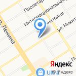 Комитет по развитию предпринимательства и потребительскому рынку Администрации Центрального района на карте Барнаула