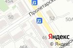 Схема проезда до компании 9 градусов+ в Барнауле
