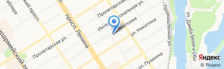 ПромСервис на карте Барнаула
