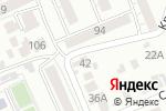Схема проезда до компании Деко в Барнауле