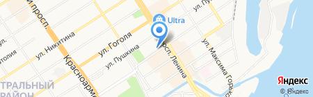 Хит-Мастер на карте Барнаула