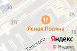 Схема проезда до компании Копион в Барнауле
