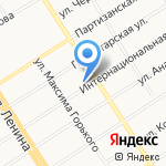 Синергия на карте Барнаула