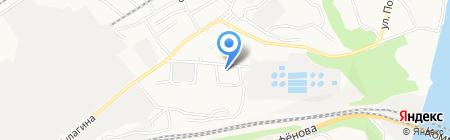 SNS Барнаул на карте Барнаула