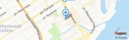 Весь крепеж на карте Барнаула