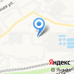 РСУ №3 на карте Барнаула