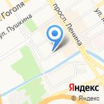 Балвис на карте Барнаула