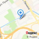 СТО по подготовке внедорожников на карте Барнаула