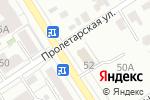 Схема проезда до компании Компания ТрансТелеКом в Барнауле
