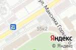 Схема проезда до компании Динамо-Центр в Барнауле