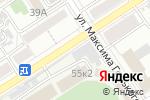 Схема проезда до компании AUR-ORA в Барнауле