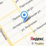 Финансовый университет при Правительстве РФ на карте Барнаула