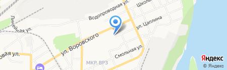 АА-ПЕРВАЯ КЛИНИНГОВАЯ КОМПАНИЯ на карте Барнаула