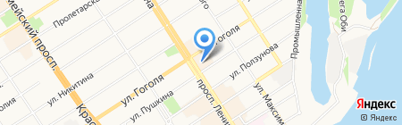 Renoir Coffee на карте Барнаула