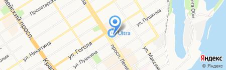 Dance studio на карте Барнаула