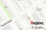 Схема проезда до компании ЭкоЯ в Барнауле