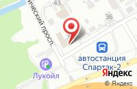 Схема проезда до компании Мастерская по ремонту автомобилей в Барнауле