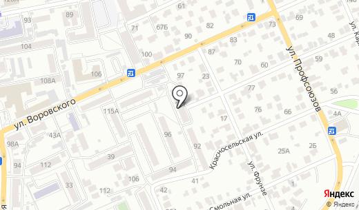 Комплексный центр социального обслуживания населения г. Барнаула по Октябрьскому району. Схема проезда в Барнауле