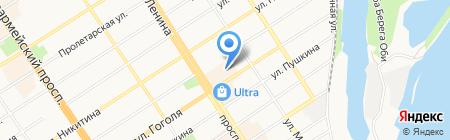 Центр технического обслуживания контрольно-кассовых машин на карте Барнаула