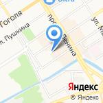Алтайэлектро на карте Барнаула