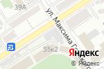 Схема проезда до компании Динамо в Барнауле
