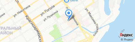 Анонимные наркоманы на карте Барнаула