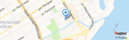 ФИФА на карте Барнаула