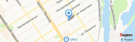 Городской союз пенсионеров г. Барнаула на карте Барнаула