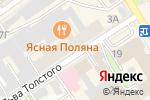 Схема проезда до компании Умелец в Барнауле