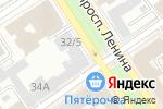 Схема проезда до компании Главное бюро медико-социальной экспертизы по Алтайскому краю в Барнауле