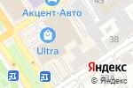 Схема проезда до компании Магия танца в Барнауле