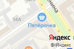 Схема проезда до компании Альянс Кредит в Барнауле