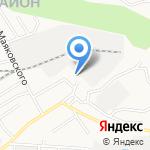 ТД Левкой на карте Барнаула