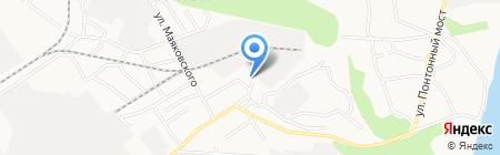 Левкой и К на карте Барнаула