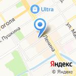 Букет здоровья на карте Барнаула