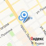 Управление Министерства юстиции РФ по Алтайскому краю на карте Барнаула