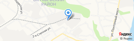 Луззар на карте Барнаула