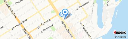 Тасс на карте Барнаула