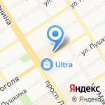 Центр Независимая Экспертная Поддержка на карте Барнаула